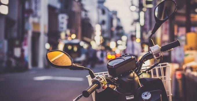 Mesure de sécurité moto