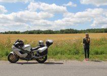 Protège main moto