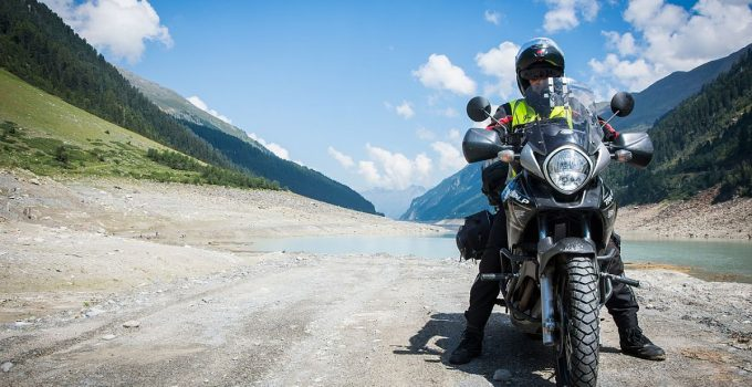 Support téléphone moto