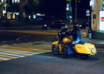 Casque moto aviateur