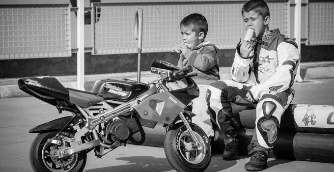 Siège enfant moto